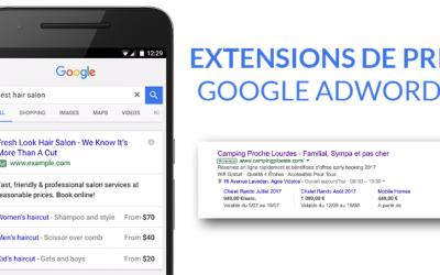 Utiliser les extensions de prix sur Adwords