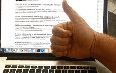 Astuce : comment être en première page Google rapidement et gratuitement sur un mot clé complexe ?